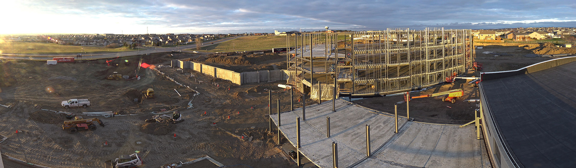 North Campus Progress April 29